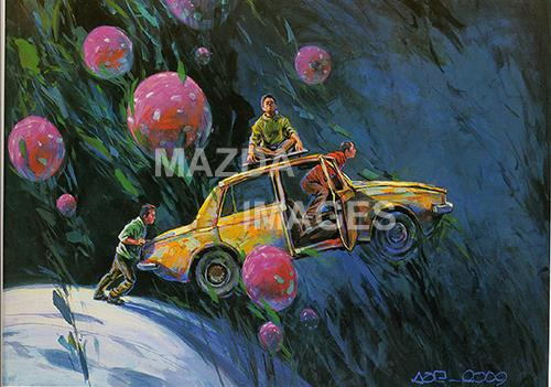 Amazingly original contemporary iranian art at crossroads
